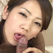 Japanese Teen Giving A Blowjob