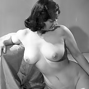 Vintage Women Baring Breasts