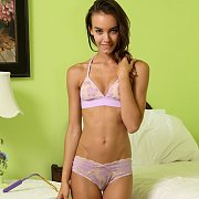 Slim Teen Gets Naughty