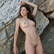Outdoors Nude Beauty