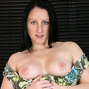 Freckled Face Milf Showing Her Breasts
