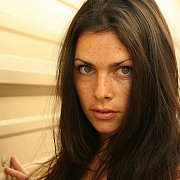 Dark Hair Hottie With A Touch Of Freckle