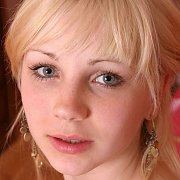 Cute Eighteen Year Old Blonde With Freckles