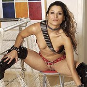 Latina In Thigh Boots Spreads