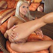 Hot Blonde Brandy Smile