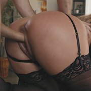 Bound Milf In Stockings Fucked