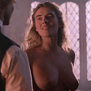 Elizabeth Hurley Breasts Exposed On Film