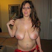 Big-Tit Mom Generously Shows Pink