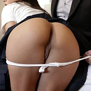 Uniform Coed Stepdaughter Ass Banged
