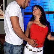 Petite Latina milf sex
