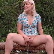 Big Piss Out In Nature