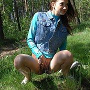 Nature Walk Peeing