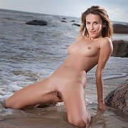 Nude Beauty At The Beach