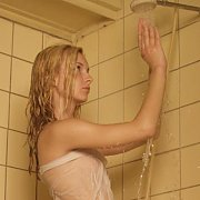 Petite teen in the shower