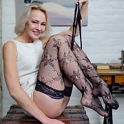 Stockings Mature On Video