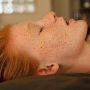 Amazing Freckles Redhead Girl