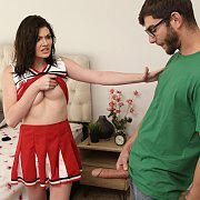 Naughty Cheerleader Step Sister