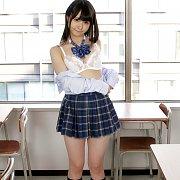 Japanese Schoolgirl Teases In Classroom
