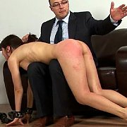 Getting A Pink Bottom Spanking