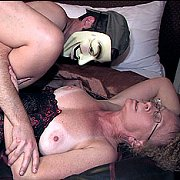 Tan Lines Mature Swinger Fucked By Masked Man