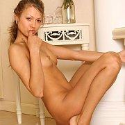 Tiny Tits Nude Teen Babe