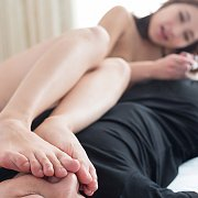 Footjobs From Uika Hoshikawa