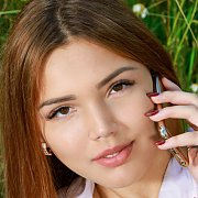 Brown Eyes Brunette Russian Teen Gets Naked Outdoors