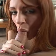 Redhead Amateur Sucks Him Dry