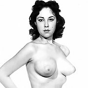 Vintage Nudes In Black And White Pics