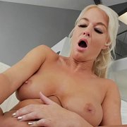 Ass Toying Big Tits Blonde Milf