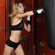 Sexy Skinny Kickboxer Strips