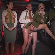 Trio In The Service Get Naughty In Engine Room
