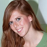 Freckled Redhead Gal Strips Naked