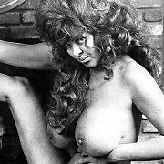 Nude Vintage Woman With Huge Tits