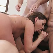 My Hotwife's Gangbang with Hope Howell