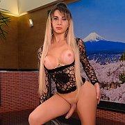 Tranny Slut Shows Her Assets with Nathalia de Castro