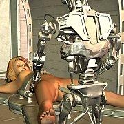 Robot Fucks A Toon