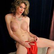 Transgender Strips Off Gown