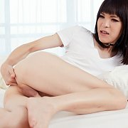 Masturbating Japanese Shemale