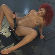 All She Wants Is To Ride Our Alien Head Sybian with Daisy Ducati