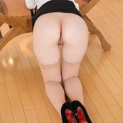 Tasty Ass Asian In Stockings And Heels