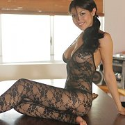 Lace Body Suit Lingerie Latina Stripping