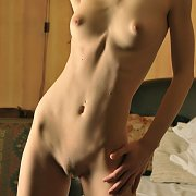 Hot Skinny Girl Nude With Flat Tummy