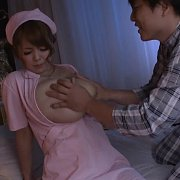 Big Titties Asian Milf Nurse Being Fondled