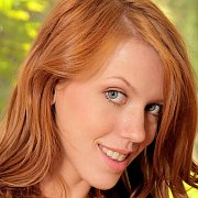 Cute Naked Redhead Coed Spreads