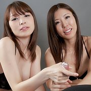Double Handjob From Japan