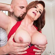 Milf Redhead Babe Andi James and Her Younger Lover