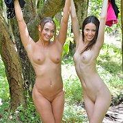 Sexy Girls Hiking