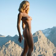 Provocative Outdoor Nude Blonde In Erotic Photos