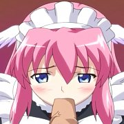 Pretty Blonde Animated Model In White Lingerie